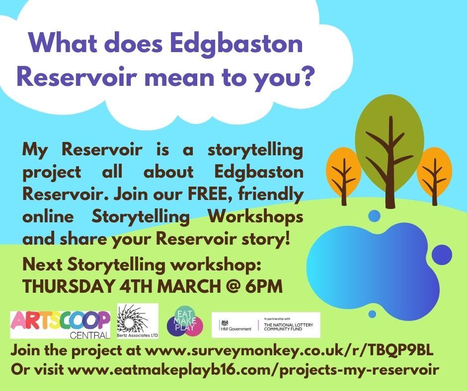 My Reservoir - Edgbaston Reservoir Project